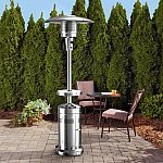 Member's Mark up to 47,000 BTUs variable Patio Heater with LED Table $139