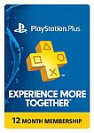 1 Year PlayStation Plus Membership - Sony PS3/ PS4/ PS Vita $39.99