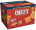 45-Pack of 1.5oz Cheez-It Crackers (Original) $10.43 (Prime Only)