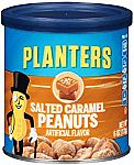 8-Pack Planters Salted Caramel Flavored Peanuts $11