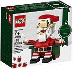 LEGO Holiday Santa 40206 Building Kit (155 Piece) $8