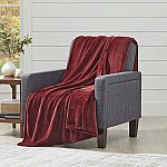 Better Homes and Gardens Oversize Reversible Velvet Plush Throw Blanket $8.88 and more