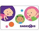 """$50 Babies""""R""""US Gift Card Code $40 and more"""