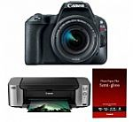 Canon EOS Rebel T7i DSLR Camera w/ 18-55mm Lens + Video Creator Kit + Pro-100 PIXMA Bundle $629 AR, Rebel SL2 DSLR Camera Kit $399 and More + Free Shipping