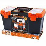 Tactix Toolbox with 47-Piece Tool Set $26 (Org $69)