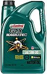 Castrol GTX MAGNATEC 5W-30 Full Synthetic Motor Oil, 5 Qt $15.20 w/ S&S
