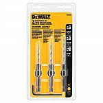DEWALT Steel Countersink Set (3-Piece) $9.99