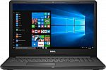 """Dell Inspiron 15.6"""" Touch-Screen Laptop (i3-7100U 8GB 1TB) $329"""