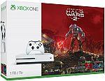 Microsoft Xbox One S 1TB Halo Wars 2 Bundle $239