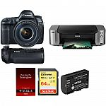 Canon 7D Mark II with Wi-Fi Adapter Kit and Canon PIXMA PRO-100 $1,199 after rebate