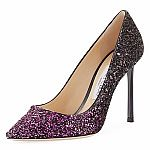 Up to 40% Off Designers Sale: Jimmy Choo Romy Glitter Pump $452 (Org $697) & More
