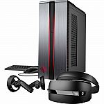 HP OMEN 870-224 Desktop & HP Mixed Reality Headset with Controllers Package $670 & More