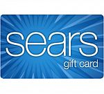 $100 Sears Gift Card $85 and more