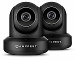 2-Pack Amcrest ProHD 1080p Wi-Fi IP Security Camera $100