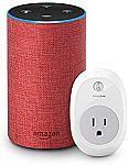 All-New Echo (2nd Generation)  + TP-Link Smart plug $84.99, Echo Dot + TP-Link Smart Plug $34.99