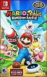 Mario + Rabbids Kingdom Battle Day 1 Edition (Nintendo Switch) $29 (50% off)