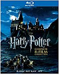 Harry Potter: Complete 8-Film Collection (Blu-ray) $30 (Org $100)