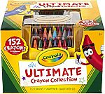 Lowest Price Ever! 152-Pieces Crayola Ultimate Crayon Art Set Collection $8.28