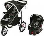 Graco Car  Seats and Travel Accessories Sale: Graco Fastaction Fold Jogger Click Connect Baby Travel System $119 and more