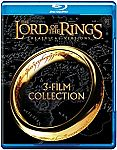 Lord of the Rings: Theatrical Trilogy (Blu-ray) $10