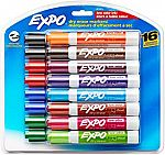 16-Pk Expo Low-Odor Chisel Tip Dry Erase Markers $5.81 and More Office/Art Supplies