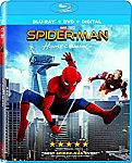 Spider-Man: Homecoming (Blu-ray + DVD + Digital) $7