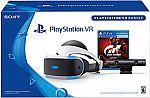 Sony PlayStation VR Gran Turismo Sport Bundles $200