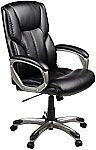 AmazonBasics High-Back Executive Chair $79.99 and more
