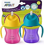 2-Count of 7-oz Philips Avent My Bendy Straw Cup $5.50 (orig. $9)