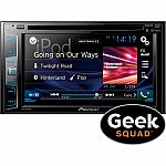 "Pioneer - AVH-X391BHS 6.2"" Bluetooth In-Dash CD/DVD/DM Receiver & Installation $199"