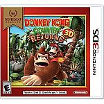 Nintendo Selects: Donkey Kong Country Returns 3D (3DS) $15
