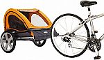 (Today only) InStep Quick N EZ Double Bicycle Trailer $66
