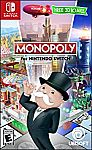 Monopoly for Nintendo Switch $20