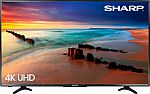 "Sharp 43"" 4K UHD Smart TV Roku TV (LC-43LBU591U) $200 (with edu discount)"