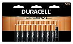 16-Pack Duracell Coppertop Batteries (AA/AAA) + 100% in Rewards $16