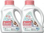100-oz Dreft Stage 2: Active Hypoallergenic Liquid Baby Laundry Detergent (HE, 64 Loads) $12.47