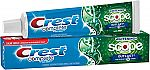 5.8-oz Crest Complete Multi-Benefit Whitening + Scope Outlast Toothpaste $1 (Add-on item) & more