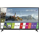 "LG 49UJ6300 49"" UHD 4K HDR Smart LED TV (2017 Model) $349 & More"