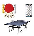 up to 30% off table tennis tables and accesorries