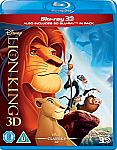 The Lion King (3D + Blu-ray) $13.99