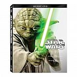 Star Wars: Prequel Trilogy Episodes I-III Blu-ray Steelbook Set $18