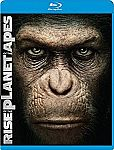 Rise of the Planet of the Apes (DVD + Blu-ray + Digital) $1 + $1 Amazon No Rush Credit