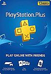 PlayStation Plus 1 Year Membership $40