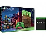 Xbox One S 1TB Console – Minecraft Limited Edition Bundle + Free Select Game $299