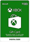 $100 Xbox Gift Card $80