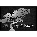 PF Chang's $50 Value Gift Cards $39.88