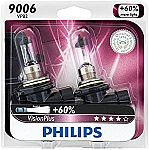 Amazon - $5 off Philips VisionPlus Upgrade Headlight Bulbs : 2Pk 9006 Headlight/Fog Light Bulb