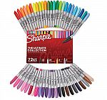 Sharpie 72-Piece Ultimate Pack, Fine/Ultra Fine Point, Assorted Colors $15.99