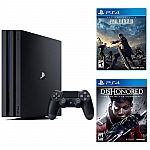 Playstation 4 Pro 1TB Console + Dishonored Death + Final Fantasy XV $350