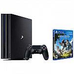 Playstation PS4 Pro 1TB + Horizon Zero Dawn $350